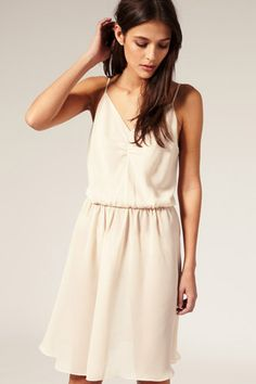 ASOS Boudoir Ruched Petticoat Slip, $32.31, available at ASOS.