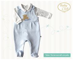 Overall Mi Angelito by Baby Club Chic.