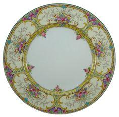 "WEDGWOOD china ST. AUSTELL W1989 pattern DINNER PLATE 10-3/4"""