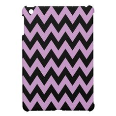 Lilac Chevron iPad Mini Covers - ooooh want!