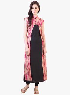 25badca1814 Buy Libas Black Printed Kurta Online - 3871432 - Jabong