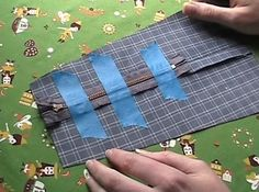 Zippers can be tricky! Want to learn how to sew a zipper in a few simple steps? Check out our step by step instructions on easy sewing projects and more! Diy Projects For Men, Diy Sewing Projects, Sewing Projects For Beginners, Sewing Hacks, Sewing Crafts, Sewing Diy, Sewing Ideas, Diy Crafts, Baby Sewing Tutorials