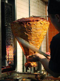 Mexico City - Carne adobada para tacos