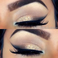 Lovely slightly enhanced and glammed natural look