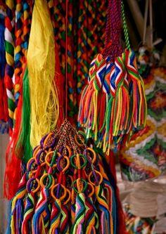 Tibetan Tassels.