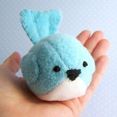 Handmade Gifts | Independent Design | Vintage Goods Li'l Bluebird - Collectible Plushes