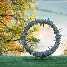 Tom Stogdon - on form | sculpture: the showcase for contemporary sculpture in stone at Asthall Manor, Oxfordshire.