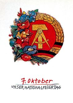 Ddr Brd, The Lost World, East Germany, Pin Logo, Communism, Berlin, Flag, How To Plan, Retro