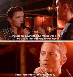 Well said, Eminem, well said XD