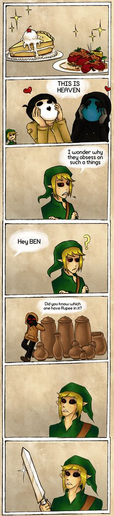 BEN is not Link but did hoodie play majoras mask?!