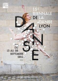 Dance theatre / Poster Danse Lyon