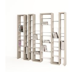 Lacquered modular MDF bookcase ($2,135) ❤ liked on Polyvore featuring home, furniture, storage & shelves, bookcases, modular book shelves, modular furniture, modular bookcase, lacquer furniture and modular bookshelves