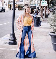 Tell it all bells – Dirty Heifer Boutique Flare Jeans Outfit, Wide Leg Jeans, Ladies Boutique, Jean Outfits, Bell Bottoms, Bell Bottom Jeans, What To Wear, Women Wear, My Style