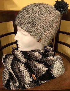 Zopfhaube und Schal by #Strickgraefin #handgestrickt Winter Hats, Fashion, Hoods, Scarf Knit, Head Bands, Scarves, Moda, La Mode, Fasion