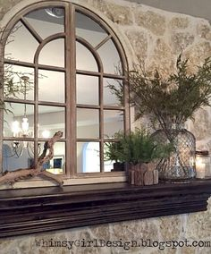 Www.thedecorativecompany.com #windowmirror #windowpanemirror