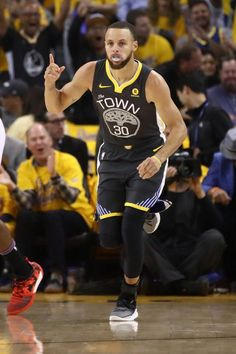 Stephen Curry of the Golden State Warriors reacts after scoring against the Houston Rockets during Game Four of the Western Conference Finals of the 2018 NBA Playoffs at ORACLE Arena on May Get premium, high resolution news photos at Getty Images Stephen Curry Basketball, Team Usa Basketball, Basketball Game Tickets, Houston Basketball, Indiana Basketball, Rockets Basketball, Basketball Floor, Basketball Shooting, Basketball Birthday
