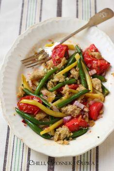 salatka z fasolki szparagowej