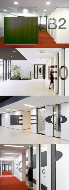 ⊚ pinned by www.megwise.it #megwise #environmentalgraphics #signage