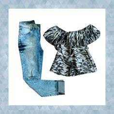 Look com calça destroyed | Chá das Cinco | Feira Shop
