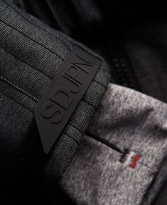 Superdry Glacier Ski Suit - little bar tacks and inner cuff