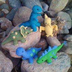 Crochet Dinosaur Collection