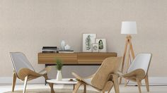 Wallpaper Specifications Brand: Rasch Collection: Uptown *Sold per roll Roll Width: Roll Length: How does it work Send us the name of the Clean Design, Modern Design, Wallpaper Suppliers, Office Fit Out, Interior Wallpaper, Concrete Wood, Industrial Chic, Wishbone Chair, Dining Table