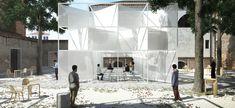 Interlace pavilion, Enrico Chinellato – BETA