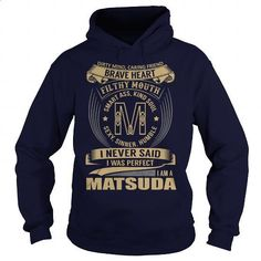 MATSUDA Last Name, Surname Tshirt - #grandparent gift #cute shirt