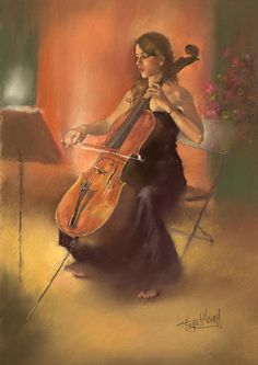 """La Celista"" by Margaret Merry"