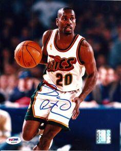 10ea268c7 Gary Payton Autographed 8x10 Photo - PSA DNA  SportsMemorabilia   SeattleSupersonics