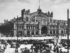 KultWarszawa: Hale Mirowskie w Warszawie