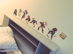 The ultimate protection. RoomMates Decor peel & stick superhero wall decals!