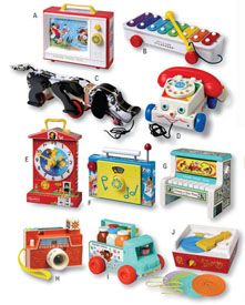 Good old Fisher Price Toys! The memories......