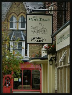 The Rusty Bicycle Pub in Oxford, England