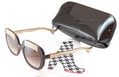 ffe683cb417 Face A Face Bocca Sunglasses Lova 1 222 Brown Cream Plastic Italy Hand Made