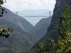 Ponte mais alta do mundo - China - http://gigantesdomundo.blogspot.com.br/2011/05/ponte-mais-alta-do-mundo.html - Siduhe_Bridge_china.jpg (750×563)