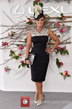 Chyka Keebaugh at the 2014  Melbourne Cup Carnival Derby
