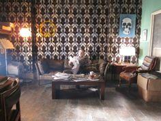 Sherlock skull and smiley face - Photo gallery: Sherlock props - Radio Times
