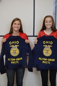 Milton-Union MVCTC FFA Receives Grant for FFA Official Dress | Miami Valley Career Technology Center