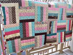 46 x 56 Rambling Rose Chair Rail Quilt