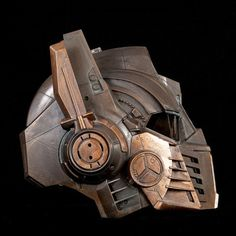 Steampunk Optimus Prime Helmet Transformers  Life Size by kyoob, $175.00