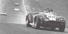 Ken Miles in the FIA Cobra entering turn 7 at Riverside