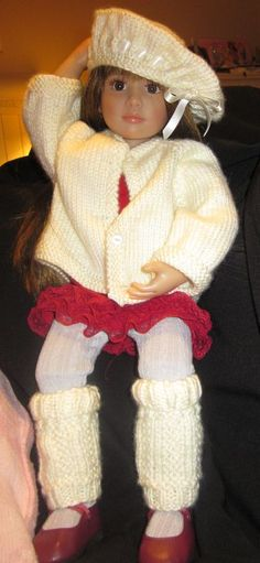 sweater outfit for AG doll