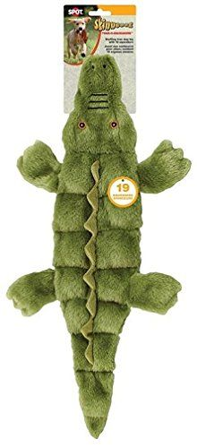 Ethical Pets Skinneeez Tons of Squeakers Alligator Dog Toy 21Inch ** Read more  at the image link.