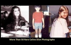 More Than 50 Rare Celine Dion Photographs