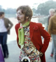 John Lennon, Hyde Park London, by Shaun Kenneally