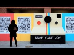 """Snap Your Joy"" by Soul Pancake A way to teach variations of happy facial expressions.  Maybe even a class/school project?"