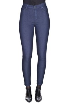 High Spray Truth Blue  #blue #truth #highwaist #cute #cheapmonday #WhiteCastleBlueJeans
