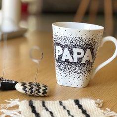 Idée cadeau fête des pères à fabriquer : un mug papa