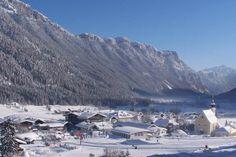 good place to teach a 3 year old to ski! Waidring, Austria - Childress Del Gaizo - your ski trip Tirol Austria, Top 10 Hotels, Mount Everest, Skiing, Around The Worlds, Mountains, Places, Travel, Europe